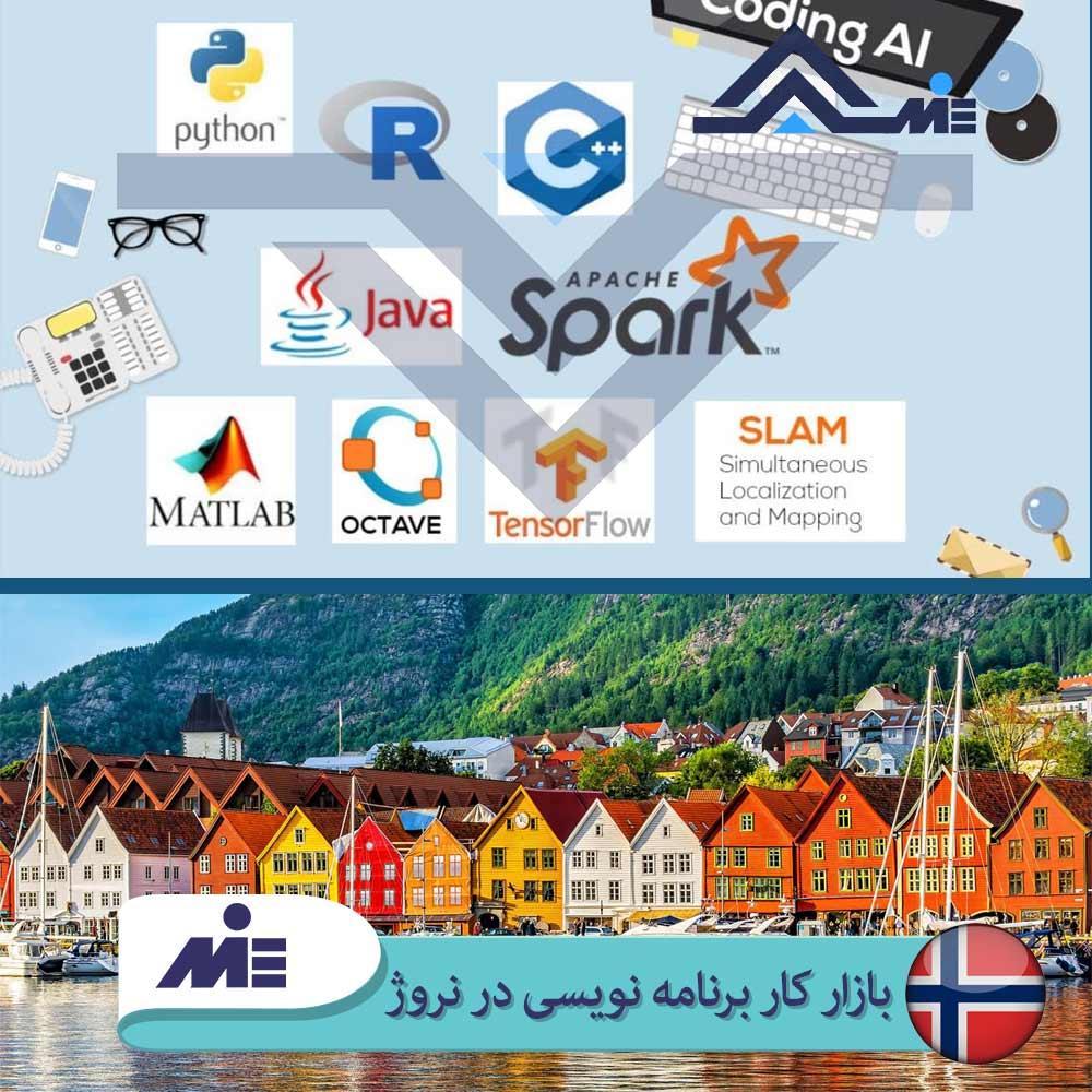 ✅ بازار کار برنامه نویسی در نروژ ✅ بهترین زبان برنامه نویسی در نروژ