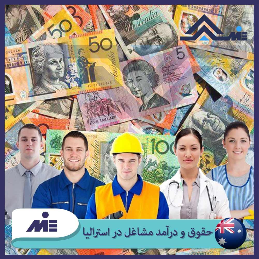 ✅حقوق و درآمد مشاغل در استرالیا 2021 ✅درآمد و هزینه ها در استرالیا ✅حقوق یک کارگر در استرالیا